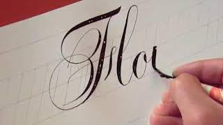 getlinkyoutube.com-How to Write Copperplate