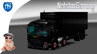 getlinkyoutube.com-Euro Truck Simulator 2, ETS 2 Mods Reviews SCANIA PZINHA V2 by ROBSON LINHARES│NetstocGaming