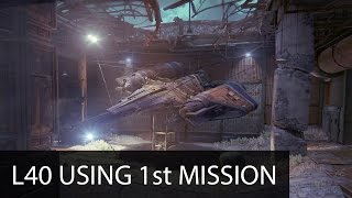 getlinkyoutube.com-Level 40 Using the First Mission: A Guardian Rises