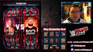 getlinkyoutube.com-WWE SuperCard #12 | KOTR Rewards & Taker Ring Domination Finale..... wait WHAT !?!?! !