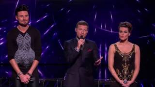 getlinkyoutube.com-The X Factor (UK) - Carolynne Poole's elimination with The Chase sounds
