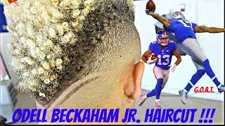getlinkyoutube.com-BARBER TUTORIAL: ODELL BECKHAM JR. HAIRCUT HD!