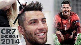 getlinkyoutube.com-Hairstyle like Cristiano Ronaldo ★ CR7 Undercut ★ Men's Hair Inspiration