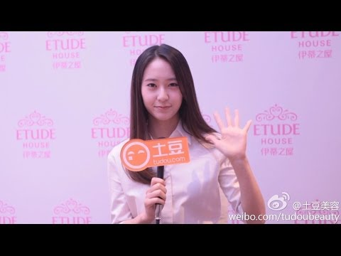 140402 Tudou Fashion Etude House with f(x) Krystal Interview