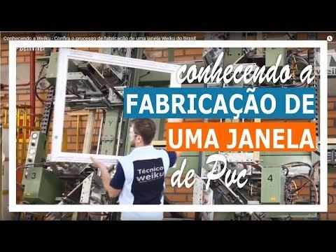 Conhecendo a Weiku - Confira o processo de fabricação de uma janela Weiku do Brasil
