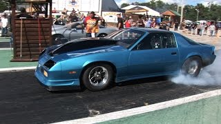 Small Tire Drag Racing - ORP Street Machines 2016