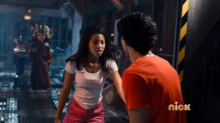 getlinkyoutube.com-Power Rangers Dino Charge - One More Energem - Escape from Sledge's Ship