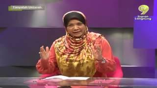 getlinkyoutube.com-Tanyalah Ustazah E07 - Bahagia Dunia Bahagia Akhirat - Dr Muhaya