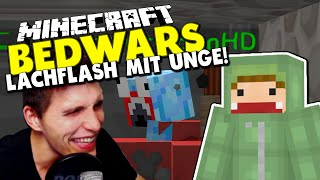 getlinkyoutube.com-LACHFLASH wegen KaktusmannHD! ✪ Minecraft Bedwars Woche Tag 135 mit Unge