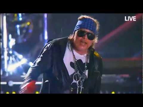 Guns N Roses Live at Rock in Rio fest October 2011 (Full Concert in HD)