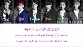 getlinkyoutube.com-VIXX - Love, LaLaLa [Hangul/Romanization/English] Color & Picture Coded HD