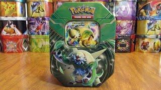 getlinkyoutube.com-25 Pokemon Tin Opening: Chesnaught EX