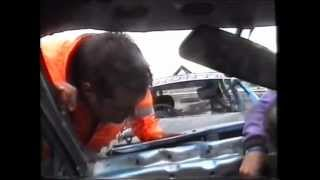 getlinkyoutube.com-Onboard carnage 2011 Banger racing