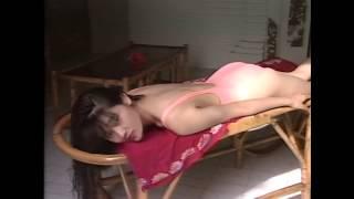 getlinkyoutube.com-Ichiko Fujii posing in high cut one piece swimwear 藤井一子