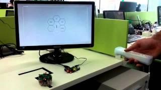 getlinkyoutube.com-Qt5 + Raspberry PI + ePuck + Cwiid