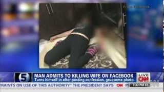 getlinkyoutube.com-Florida Man kills his wife - Shares picture and post on Facebook - New August 11th 2013