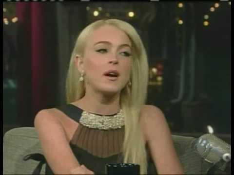 Lindsay Lohan David Letterman Part 2