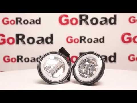 Обзор от goroad.ru. Светодиодные (led) противотуманные фары (птф, противотуманки) 30W GRV34030DA
