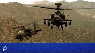 Boeing's New Apache Attack Helicoper: Reduces Pilot Workload, Increases Ground Troop Protection