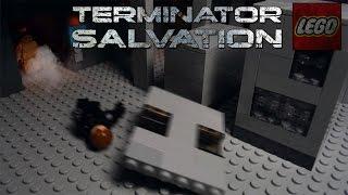 getlinkyoutube.com-Lego Terminator Salvation John Connor vs T-800