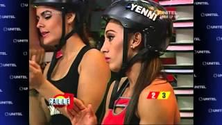 getlinkyoutube.com-'TRONCOS EN EQUILIBRIO': El equipo AMARILLO ganó la prueba y se llevó 200 puntos!!!