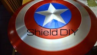 getlinkyoutube.com-Authentic Captain America Shield V. 2.0: DIY Tutorial