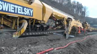 getlinkyoutube.com-Sanierung Bahnstrecke Leibnitz Spielfeld  mit Plasser & Theurer AHM 800 R Teil 3/6