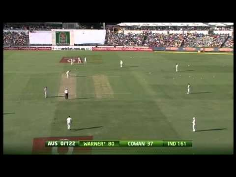 WACA David Warner's Blistering Century