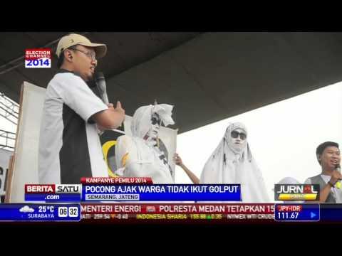 Pocong dan Kuntilanak Ramaikan Kampanye PKS di Semarang