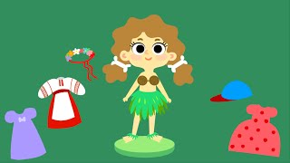 Мультики для девочек - Ма́шины одёжки - Серия 8