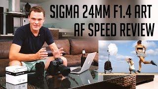 getlinkyoutube.com-Sigma 24mm F1.4 Art AF speed review on 5D Mark III