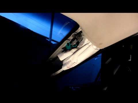 Как снять обшивку передней стойки лобового стекла на Hyundai i30 2013г.