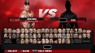 getlinkyoutube.com-WWE 2K14 PSP Full roster & download link