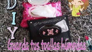 getlinkyoutube.com-Porta toallitas húmedas por Fantasticazul