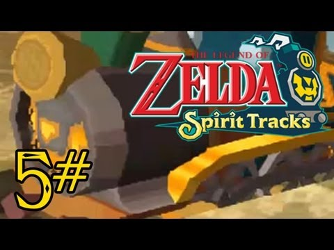 Let's Play: The Legend of Zelda - Spirit Tracks [HD] Part 5: Verlorene Wlder?!