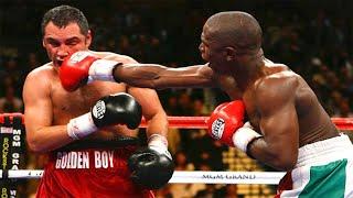 Floyd Mayweather Jr. vs Oscar De La Hoya - Highlights (Great Fight)