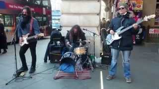 getlinkyoutube.com-U2, With Or Without You cover - busking in the streets of London, UK