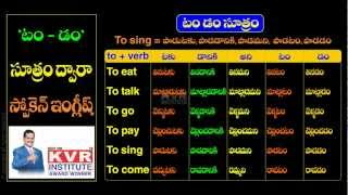 Spoken English Learn English Through Telugu Lesson 22 Free