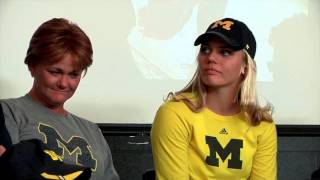 Madison Uden signs letter of intent for Michigan