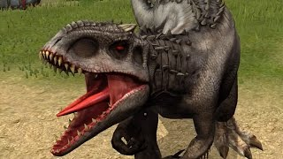 getlinkyoutube.com-Jurassic World: The Game - Indominus Rex [Hybrid]