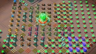 "getlinkyoutube.com-Boom Beach ""BEAUTIFUL POWER BASE!"" Intense Operation Grenadier Attack!"