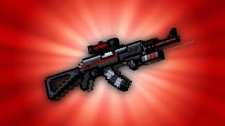 getlinkyoutube.com-Pixel Gun 3D - AK-48 UP2 [Review]