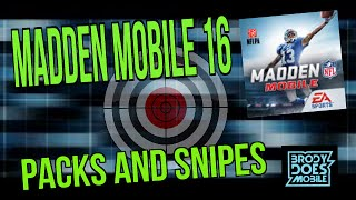 getlinkyoutube.com-Packs and Snipes | Madden Mobile 16