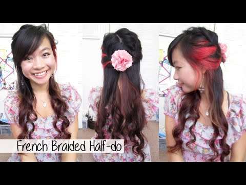 Braided Spring Half-do