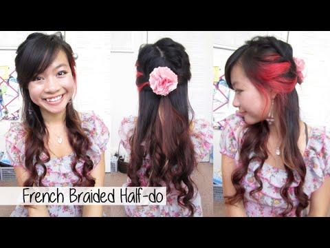 Braided Spring Half-do