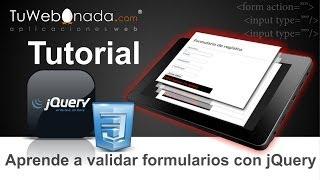 getlinkyoutube.com-Aprende a validar formularios HTML con jQuery y CSS