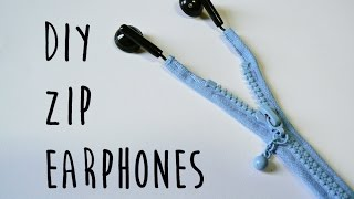 getlinkyoutube.com-DIY Zip Earphones | LDP