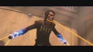 getlinkyoutube.com-Star Wars: The Clone Wars - Anakin & Obi-Wan vs. Royal Zygerrian Guards [1080p]