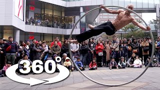 getlinkyoutube.com-Taiwan's Ring Man 360° - Experience One Of The Most Awesome Street Performances in 360° VR! (4k)