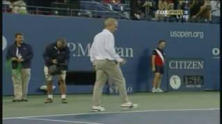 getlinkyoutube.com-Novak Djokovic and John McEnroe having a hit